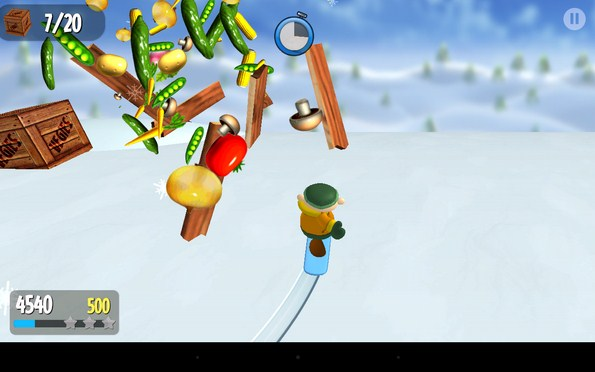 Snow Spin – арктическое приключение для Samsung Galaxy S4