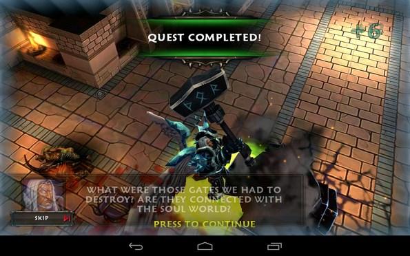 SoulCraft – люди против ангелов и демонов для Samsung Galaxy Note 3, Galaxy S4