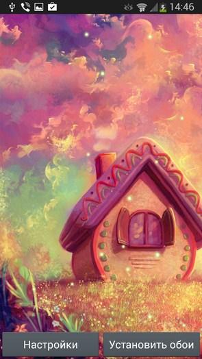 Sweet Home – домик из сладостей для Галакси С4