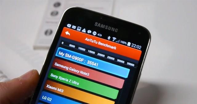 Результаты Samsung Galaxy S5 в тестах Quadrant, AnTuTu, GFXBench и Basemark X