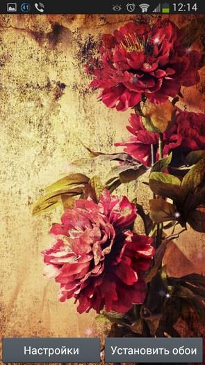 Vintage Roses – украшательство со вкусом  для Galaxy S4, S3, Note 3, Ace 2