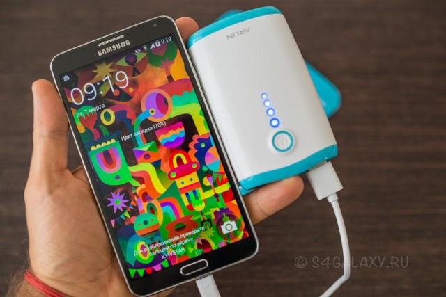 Аккумулятор на 7800 мАч для Galaxy S5 S4 Note 3