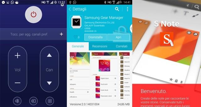 Некоторые приложения извлеченные из Samsung Galaxy S5
