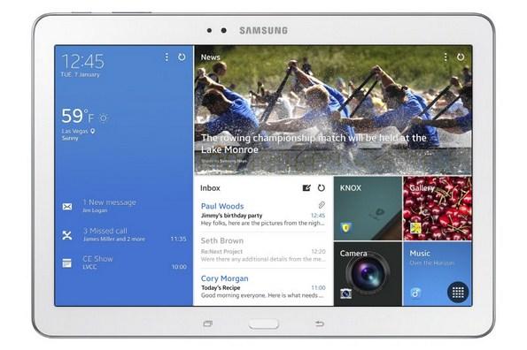 Мощный планшет Samsung Galaxy Tab Pro 10.1 - основные характеристики