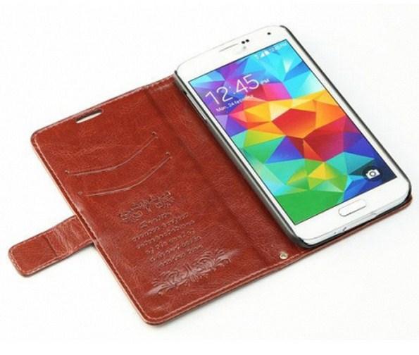 Кожаный флип-чехол K-Cool Sheep Skin для Samsung Galaxy S5