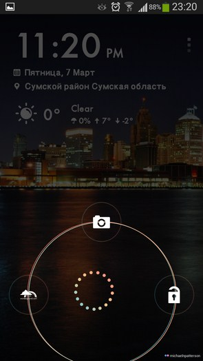 Weather Locker HD – локскрин с погодой для Samsung Galaxy Note 3, S5, S4, S3