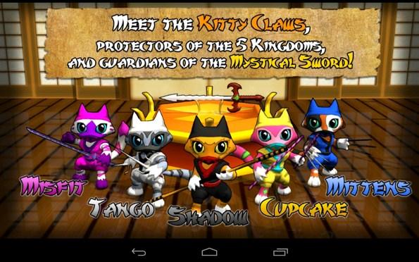 Ninja Kitty – кошачий клан для Галакси С4, Нот 3