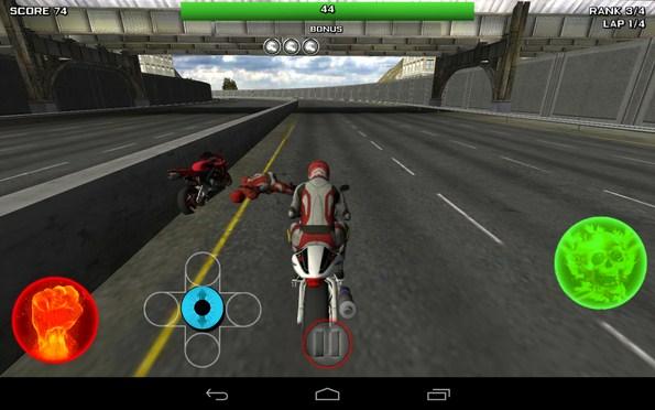 Race Stunt Fight 3 – убийственные мотогонки для Samsung Galaxy S5, S4, Note 3