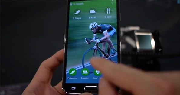 Приложение S Health в Samsung Galaxy S5
