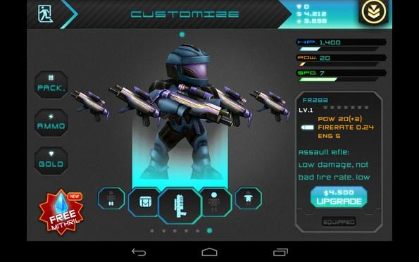 Star Warfare HD – сражения с инопланетянами для Samsung Galaxy S5, S4, Note 3