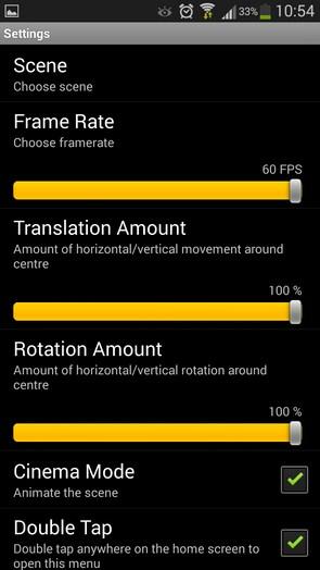 Super Parallax 3D Pro 2 – обои с параллаксом для Samsung Galaxy S5, S4, Note 3