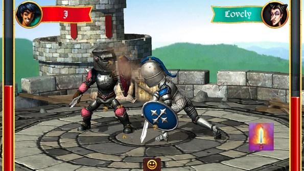 Sword vs Sword – рыцарские поединки для Samsung Galaxy S5, S4, Note 3