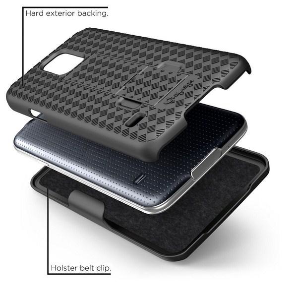чехол с подставкой для Samsung Galaxy S5