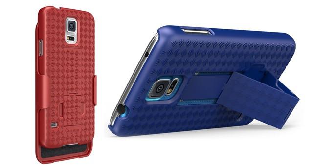 Защитный чехол кобура с подставкой i-BLASON для Samsung Galaxy S5