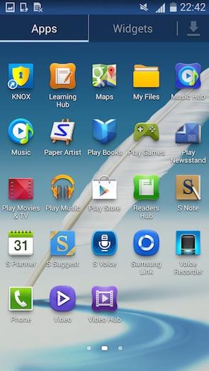 Андроид 4.4.2 для Галакси Ноут 2