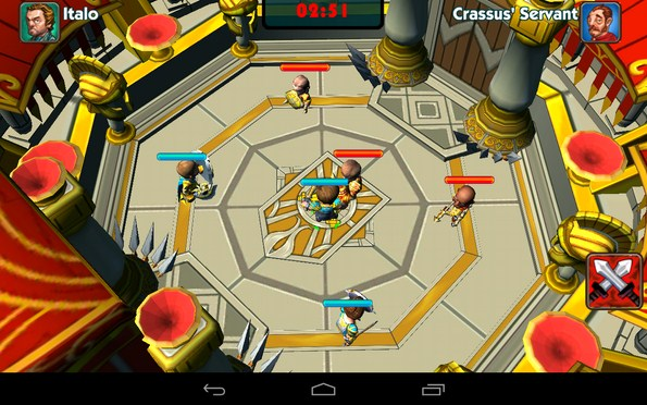 Call Of Arena – боги арены для Samsung Galaxy Note 3, S5, S4, S3