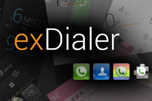 ExDialer – книга контактов и вызовы для Галакси С5, С4, Нот 3