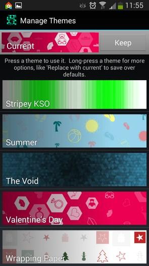 Light Grid Pro – абстрактная пульсация для Galaxy S5, S4, S3, Note 3, Ace 2
