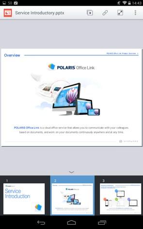 POLARIS Office Link – облачный редактор документов для Samsung Galaxy S5, S4, Note 3