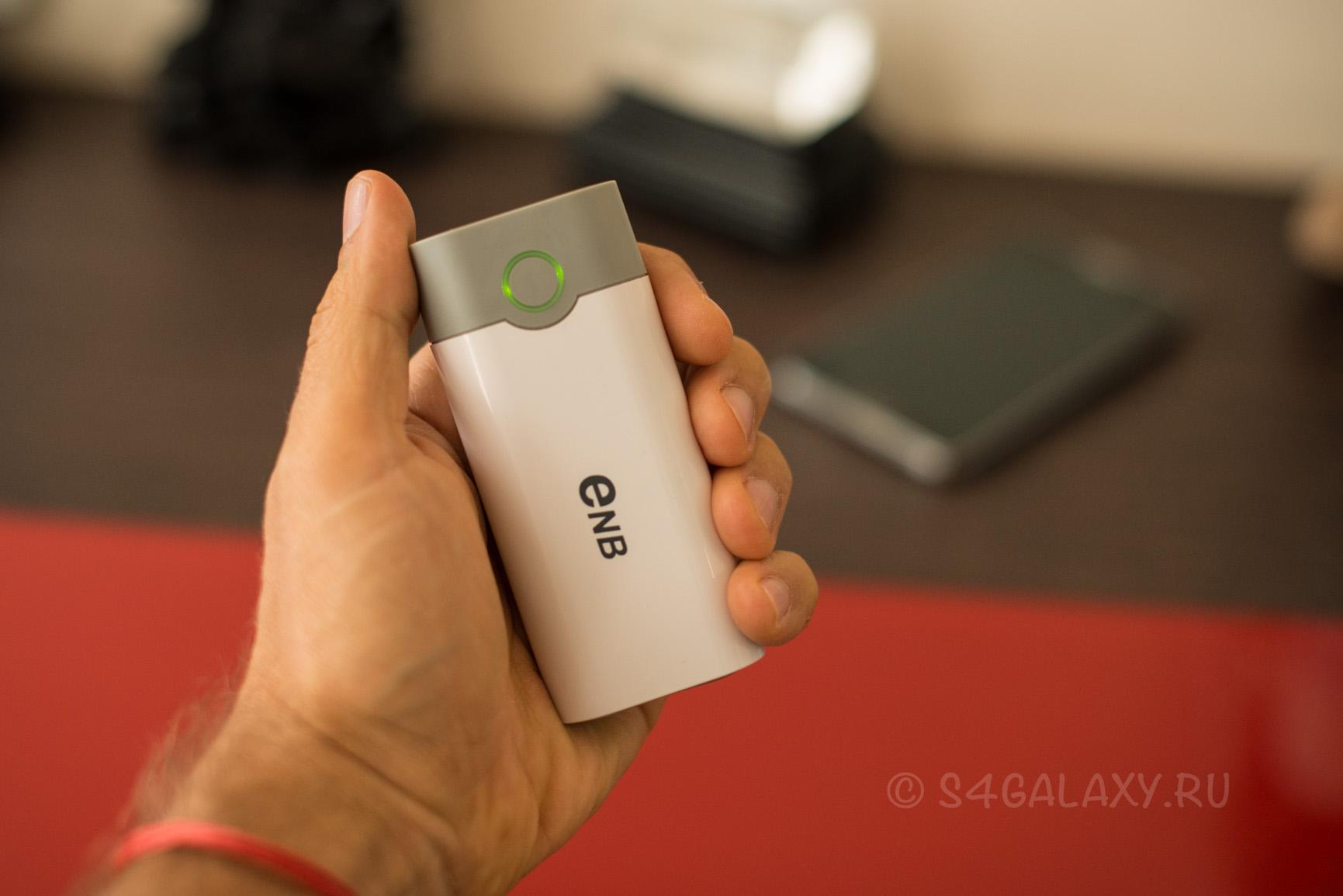 Зарядное устройство с батареей на Samsung Galaxy