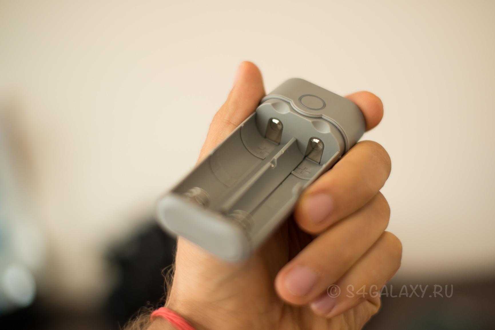 Отсек для батарей 18650