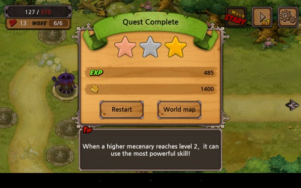 Quest Defense – защита земель для Samsung Galaxy Note 3, S5, S4, S3