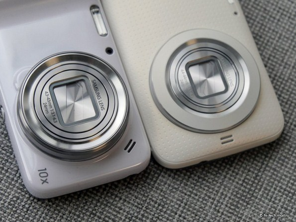 Сравнение Samsung Galaxy K Zoom и Galaxy S4 Zoom