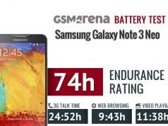 Тест автономной работы батареи Samsung Galaxy Note 3 Neo