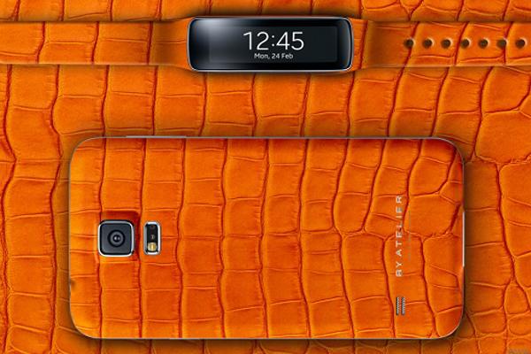 Роскошный комплект Samsung Galaxy S5 и Gear Fit от By Atelier