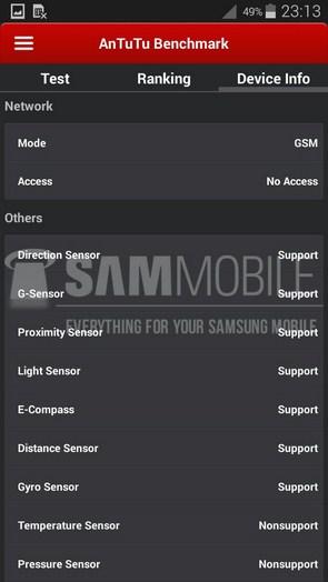Характеристики Samsung Galaxy S5 Zoom и первые результаты в AnTuTu