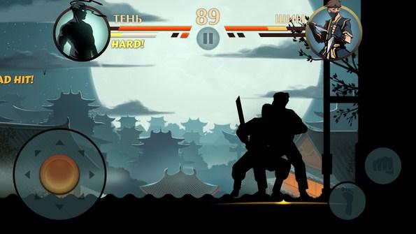 Shadow Fight – бой с тенью для Samsung Galaxy Note 3, S5, S4, S3
