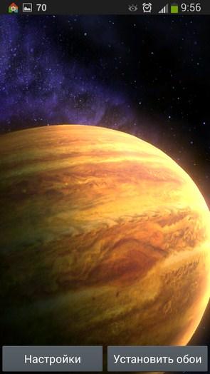 Space HD – бескрайний космос для Галакси С5, С4, Нот 3