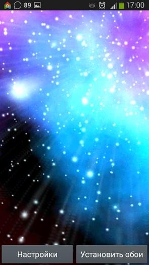 Starfield 3D Parallax – полет сквозь звезды для Галакси С5, С4, Нот 3
