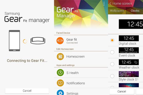 Начались продажи Galaxy S5, часов Gear 2, браслета Gear Fit и вышло обновление Gear Manager