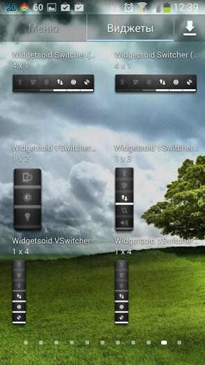 Widgetsoid – настраиваемые кнопки для Samsung Galaxy Note 3, S5, S4, S3