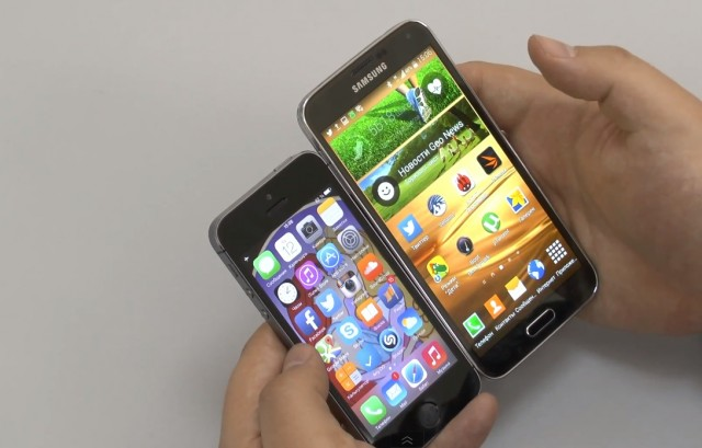 Главная битва смартфонов 2014 года: Galaxy S5 vs. iPhone 5s
