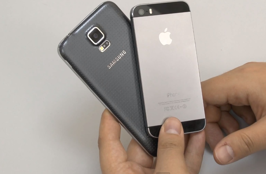 Galaxy S5 vs. iPhone 5s
