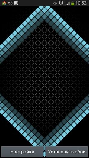 Cell Grid – футуристические ромбы для Galaxy S5, S4, S3, Note 3, Ace 2