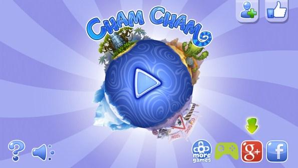 Cham Cham – хамелеон и фрукты для Samsung Galaxy S5, S4, Note 3