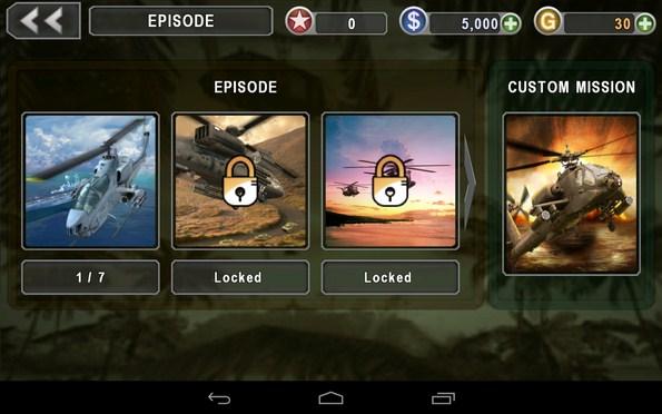 Gunship Battle – группа зачистки для Галакси С5, С4, Нот 3