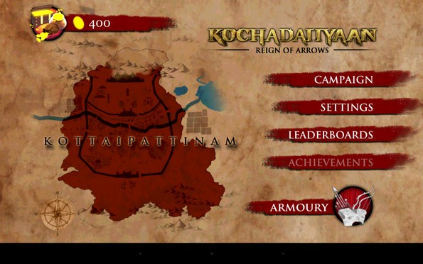 Kochadaiiyaan: Reign of Arrows – отважный лучник для Samsung Galaxy S5, S4, Note 3