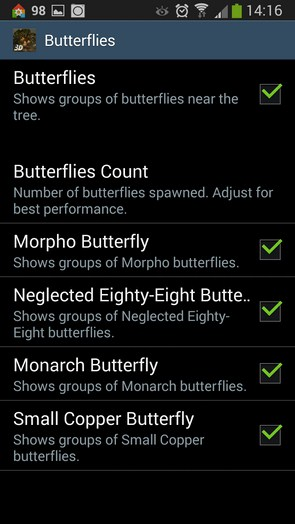 Magic Tree 3D – дерево-источник для Samsung Galaxy S5, S4, Note 3