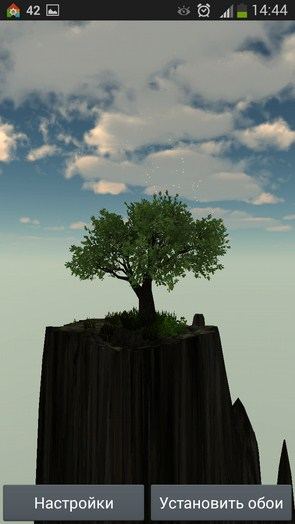 Magic Tree – волшебное деревце для Samsung Galaxy Note 3, S5, S4, S3