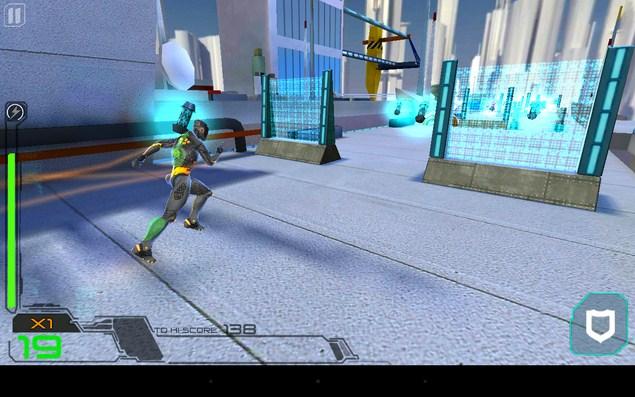 RunBot – побег из лаборатории для Галакси С5, С4, Нот 3