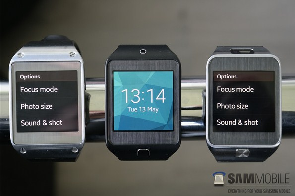 Tizen OS на Samsung Galaxy Gear