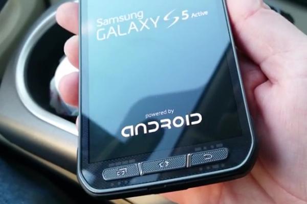 Samsung Galaxy S5 Active (SM-G860A ) - первые фото и видео