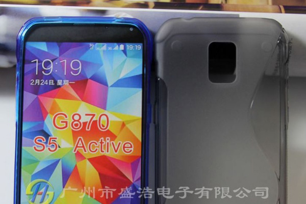 Возможный дизайн Samsung Galaxy S5 Active