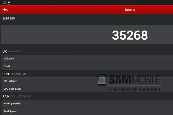 Первые подробности и характеристики о новой линейке планшетов Samsung Galaxy Tab S