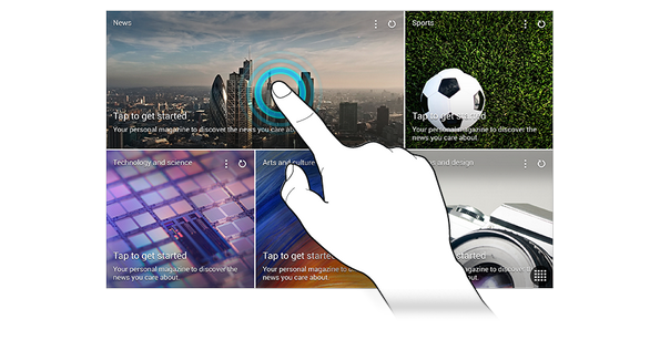Samsung Galaxy Tab S - изображения из прошивки планшетов