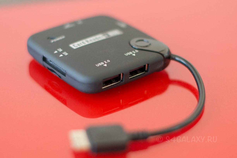 OTG USB HUB для Галакси Ноут 3 и Галакси С5